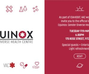 Invitation to the Launch of Equinox