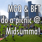 MGQ & BFT do a picnic @ Midsumma!