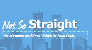 not so straight logo