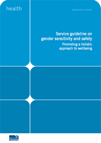 Service guideline on gender sensitivity and safety