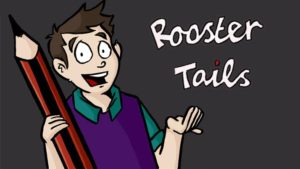 rooster-tails