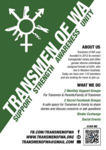 Transmen of WA Poster small