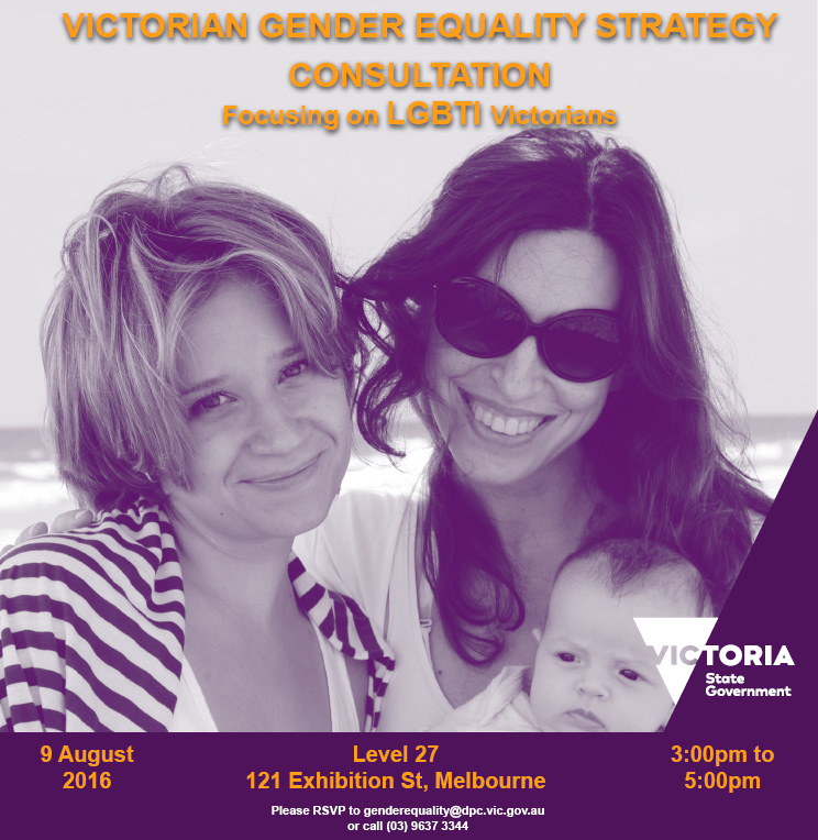 Invite_ Victorian Gender Equality Strategy Consultation [SEC=UNCLASSIFIED]