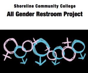 All gender restroom project