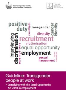 transgender people at work