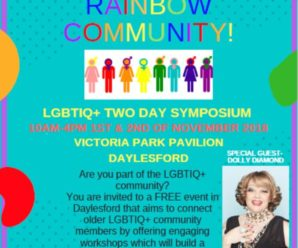 Central Victoria LGBTIQ+ two-day symposium