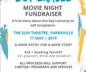 "Movie Night Fundraiser of ""Boy Erased"""