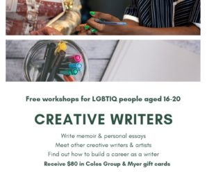 Free Creative Writing Workshop