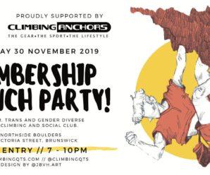 ClimbingQTs Membership Launch Party