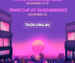 Trans Awareness Week 2019