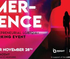 EMERGENCE | An entrepreneurial LGBTQIA+ Networking event