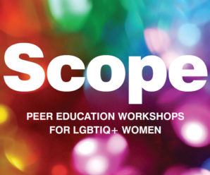 FREE workshops for LGBTIQ women