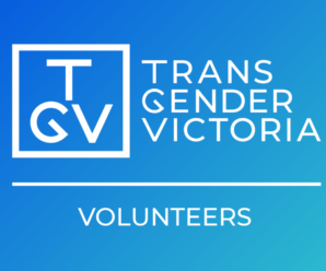 Trans Gender Victoria (TGV) Volunteer
