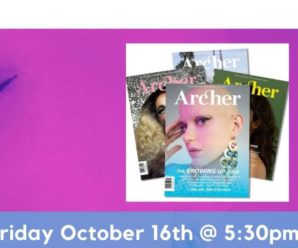 Archer Magazine Issue 14 Digital Launch Party