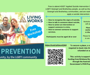Sistergirl and Brotherboy Applied Suicide Intervention Skills Training (QLD)